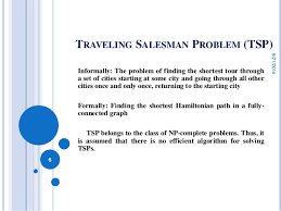 Show ant colony optimization for solving the traveling salesman probl