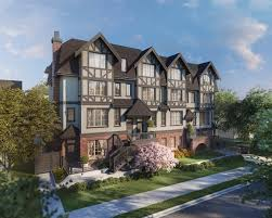 townhomes at tudor house will feature timeless tudor architecture