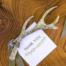 bottle opener favors silver antler bottle opener favor set of 6 barware wedding