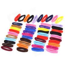 hair rubber bands rubber band hair band hair rope headdress multicolored 50pcs