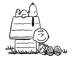 charlie brown snoopy peanuts coloring coloring