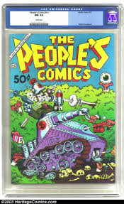 n n underground the people s comics nn golden gate 1972 cgc nm 9 4 white lot