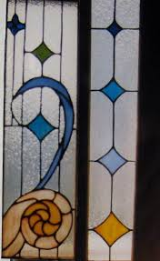 kitchen cabinet door stained glass inserts crafted nautical stained glass door inserts by