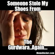 Shoes Meme - someone stole my shoes from create your own meme