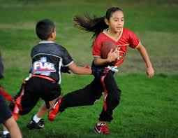 Coed Flag Football Operation Hope Youth Flag Football League