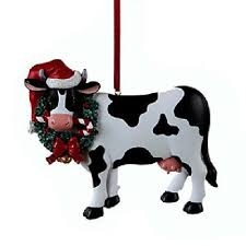 cow ornaments fishwolfeboro