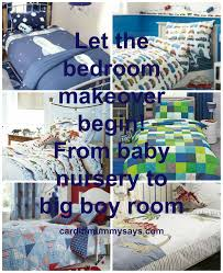 let the bedroom makeover begin from baby nursery to big boy room