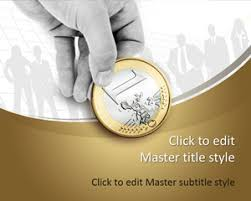 1 euro coin powerpoint template