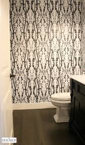 tempaper self adhesive wallpaper bathroom reveal the house of