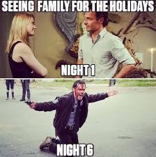 The Walking Meme - 13 family memes for the 2017 holidays that ll give everyone a good laugh