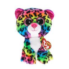 ty beanie boos dotty leopard soft toy ty beanies