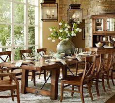 Best Large Dining Tables Images On Pinterest Dining Room - Pottery barn dining room set