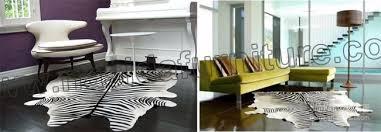 tappeti pelle di mucca nasida clb101 sta zebra in bianco e nero colore della pelliccia