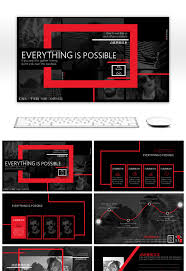American Flag Powerpoint Background 2511 Five Star Red Flag Powerpoint Templates For Free Download On