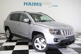 jeep crossover 2016 2016 used jeep compass 4wd 4dr latitude at haims motors serving fort