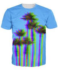 Tree Shirt L A Trees T Shirt Trippy Looking Palm Trees 3d Print T Shirt