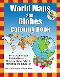 detailed map of usa and canada world regional maps coloring book maps of world regions