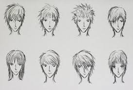 hhort haircut sketches for man best image of anime boy hairstyles