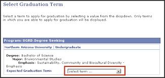 applying for graduation office of the registrar northern