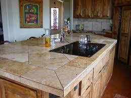 kitchen countertop tiles ideas 27 best tile countertops images on bathrooms kitchens