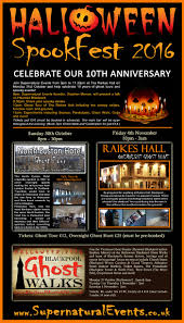 supernatural events presents halloween spookfest