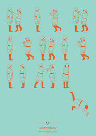 14 posters to help you learn your favorite dance routines monty