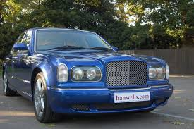 bentley arnage r 2003 03 bentley arnage r finished in moroccan blue with arnage t