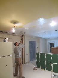 kitchen ceiling paint painting walls and ceiling same color