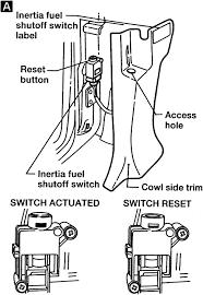 repair guides gasoline fuel injection system inertia fuel shut