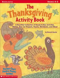 the thanksgiving activity book scholastic digital
