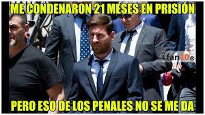 Memes Sobre Messi - lionel messi estos fueron los memes sobre su sentencia de 21