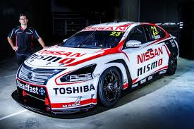 nissan sentra race car michael caruso to run traditional nissan racing number in 2015 v8