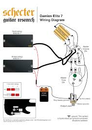 apocalypse schecter wiring diagram diy wiring diagrams free wiring