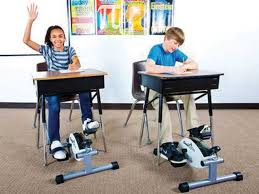 Desk Bike Pedals Students To Pedal Away During Class