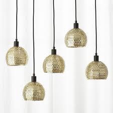 Gold Pendant Lighting Gold Pendant Lights Cb2