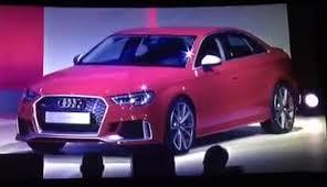 audi rs 3 sedan audi rs 3 sedan is with 298kw in4ride