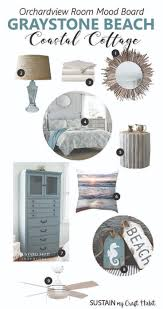 rustic nautical home decor love this soothing beach inspired mood board for a coastal cottage