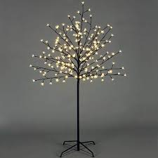 premier warm white led cherry twig tree 1 5m charlies direct