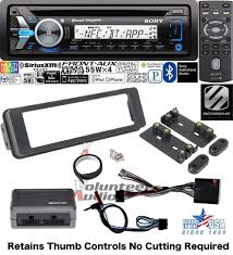 sony 98 2013 harley marine radio touring install adapter flht cd
