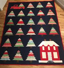 the creative musings of michele christmas tree quilt