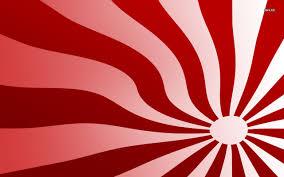 Maroon And White Flag Wallpaper Merah