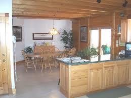 log home photos of dining rooms