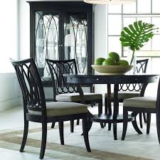 Black Oval Dining Table Dining Room Cool Picture Of Open Floor Kitchen Dining Room Design