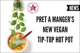 pret cuisine pret a manger s vegan tip top pot