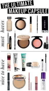 minimalist makeup bag
