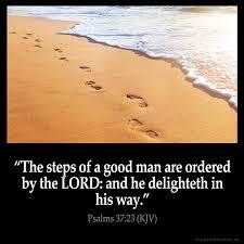 psalms 37 23 kjv