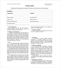 rental agreement template u2013 24 free word excel pdf documents