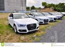 cars audi cars audi parks in row editorial stock image image 59045154