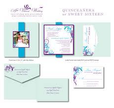 elegant sweet 16 invitations birthday invitations u2013 a vibrant wedding