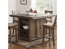 new classic tuscany park pub table with wine glass and bottle